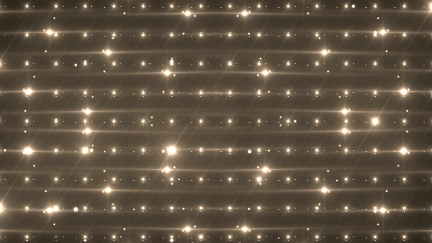 VJ Disco spectrum lights concert spot bulb. Abstract motion background in gold colors, shining lights. Creative bright flood lights flashing. Seamless loop | Shutterstock HD Video #11367713