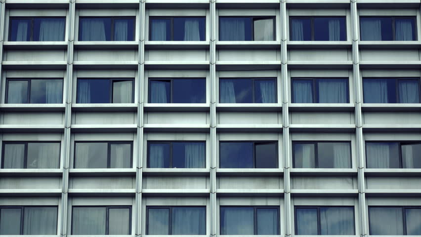 city building windows.  Stock Video Clip Of 4K Big City Hospital Building Close Shutterstock