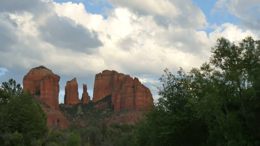 Sedona Time Lapse 03 Cathedral Rock   Shutterstock HD Video #11416343