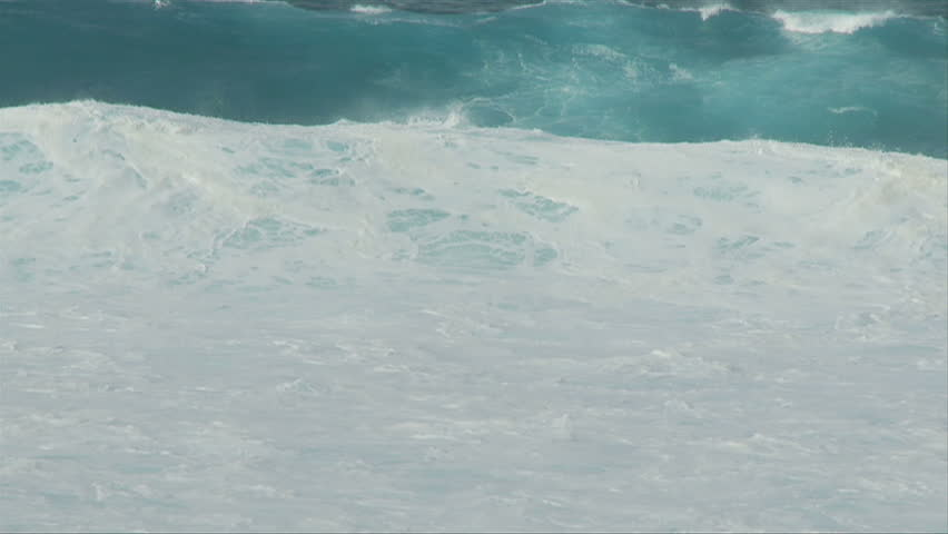 Raging Ocean Waves