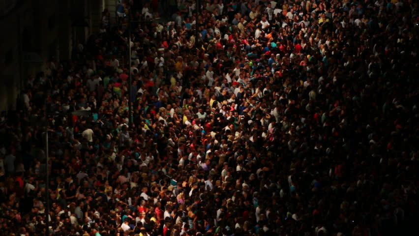 People on a big musical concert, Crowds of people, Video clip | Shutterstock HD Video #11533343