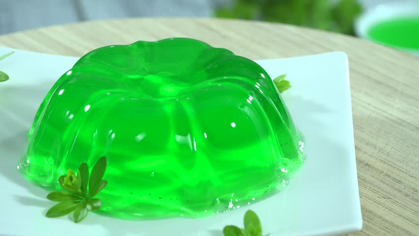 Rotating Lime Jello Stock Footage Video 4505804 | Shutterstock