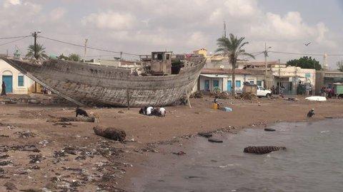 Djibouti Tajura city beach