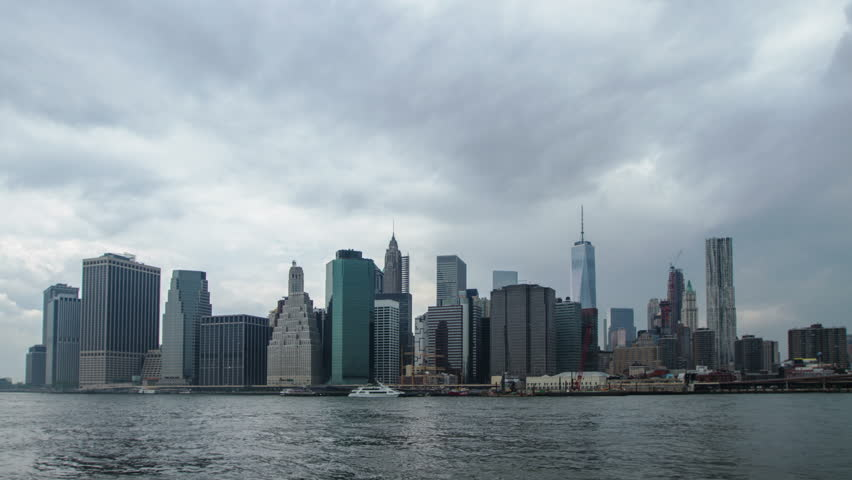 Manhattan in bad weather, time lapse | Shutterstock HD Video #11641553