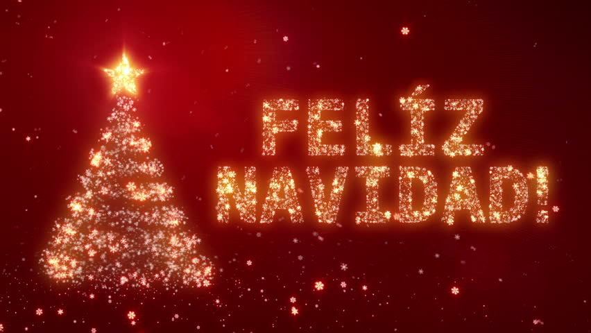 Feliz Natal. Christmas Background with Stock Footage Video (100 ...