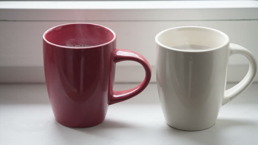 Coffee Red Stock Video100Royalty Footage Free11812613Shutterstock Two Cups 7gIf6mYbyv