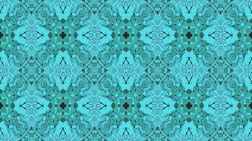 Abstract background as loop able kaleidoscopic pattern | Shutterstock HD Video #11827433