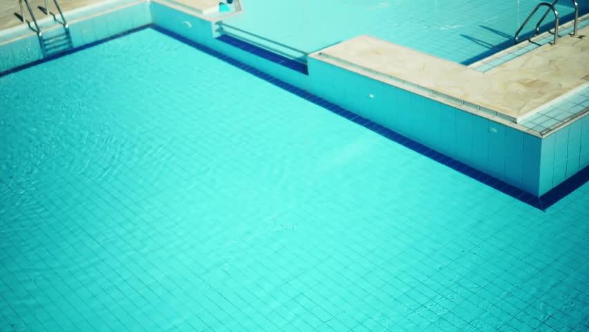 Pool Water Hd beautiful blue swimming pool water. shoot on digital cinema camera