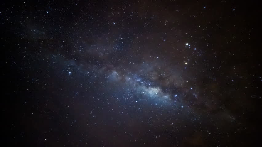 Center of milky-way time lapse
