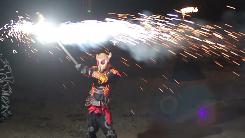 night demons make fireworks #11915183