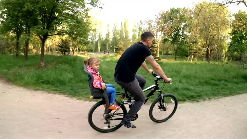4k Footage 2 Year Old Boy Riding His Walking Bike On Sunny Summer