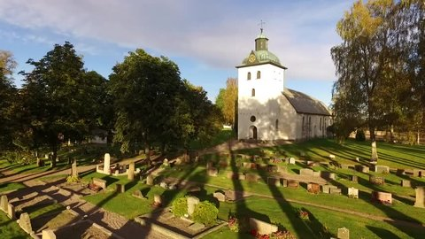 Historic Church of Sodra Ny (Lake Vaner), Sweden