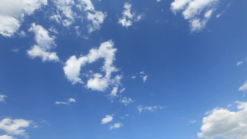 clouds and sky timelapse