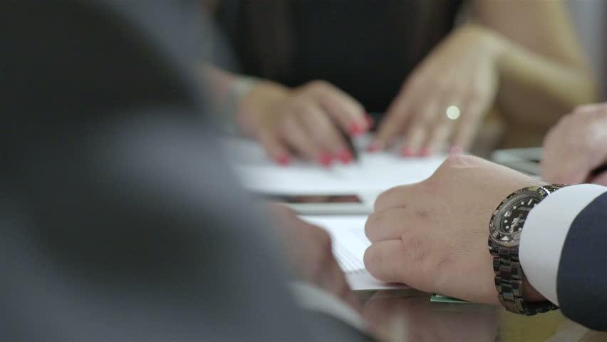 Lawyer meeting | Shutterstock HD Video #12091754