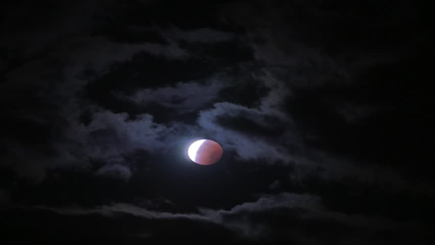 Lunar Eclipse | Shutterstock HD Video #12132263