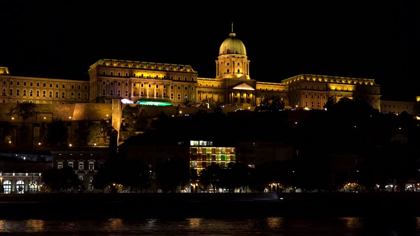 Hungarian Parliament in Budapest  Night, Stock Footage Video (100%  Royalty-free) 12158333 | Shutterstock