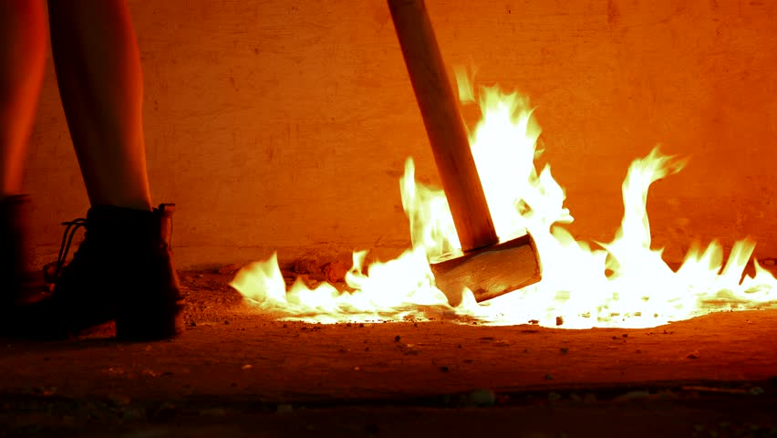 Image result for burning hammer