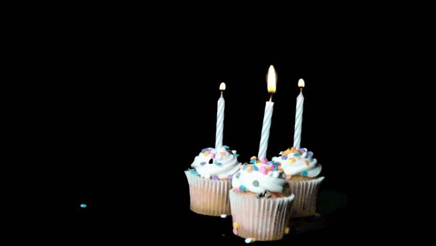 Happy Birthday Cake Stock Footage Video 2741726 Shutterstock