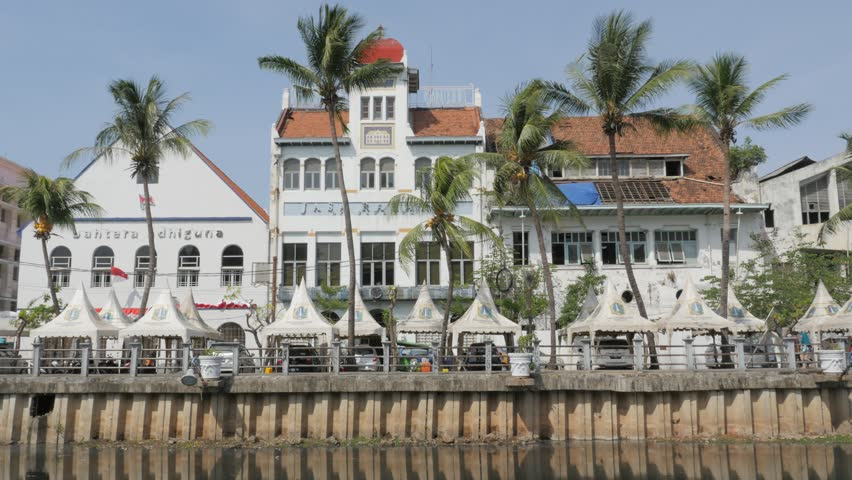 jakartaindonesia september 032015 dutch colonial building on kali besar canal - Multi Hotel 2015