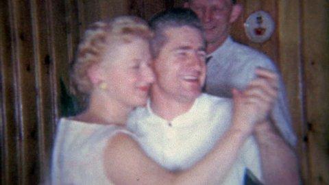 FLINT, MICHIGAN 1963: Older women dancing with younger men as dancing was entertainment not sexual.