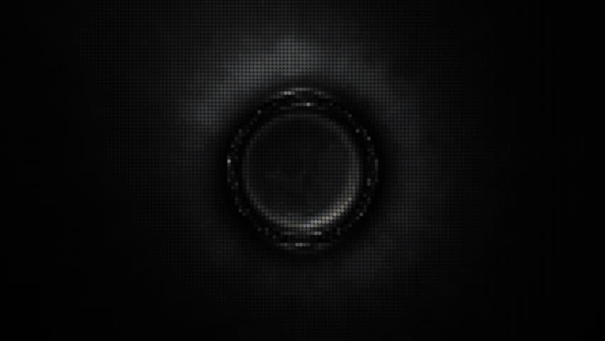 Fancy Club Light Effects In A Dark Background Stock: Light And Sound Waves Speaker