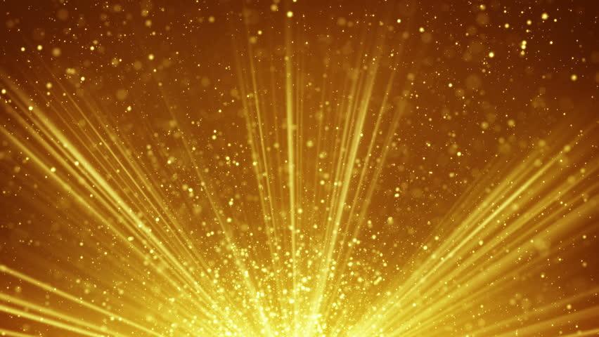 Golden Light Rays And Particles Stockvideos Filmmaterial 100 Lizenzfrei 12463523 Shutterstock