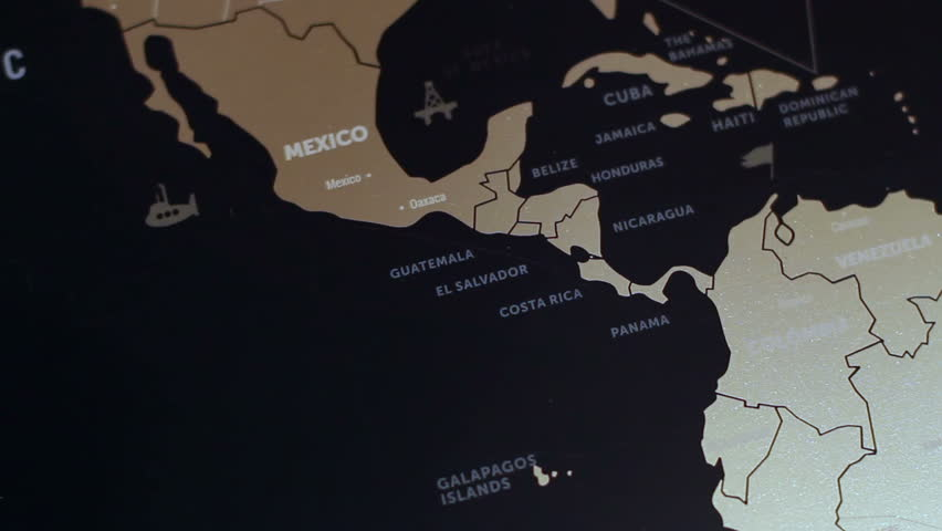 Africa Map Stock Footage Video Shutterstock - Nicaragua map hd