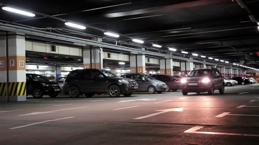 Spacious Well Lit Underground Car Park With Free Parking