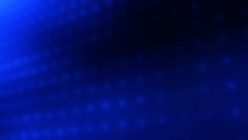Looping Animated Blue Lights Background   HD Stock Video Clip