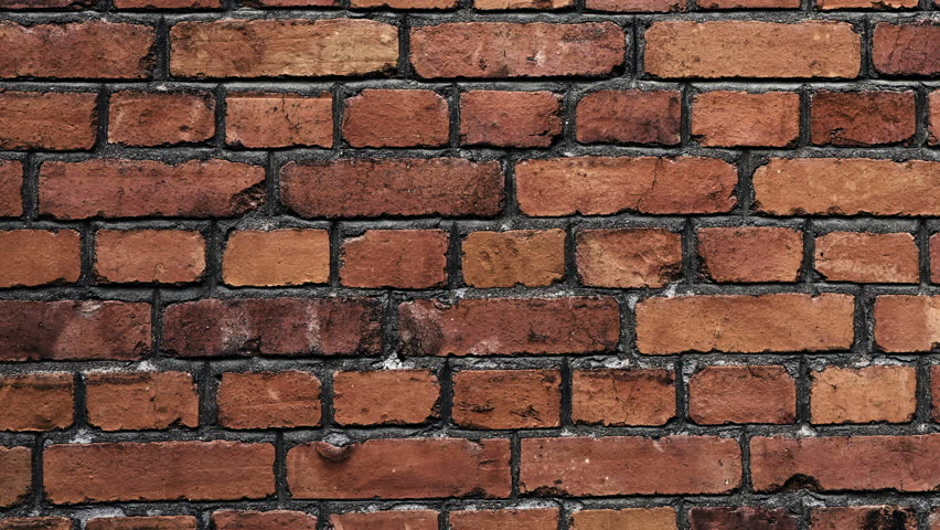 Old And Torn Surface Of Brick Wall Traveling Left To Right Animated Still Picture Stock Footage Video 12611543