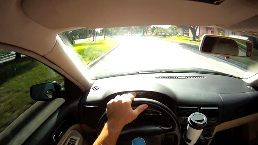Person driving and texting on the phone | Shutterstock HD Video #1262503