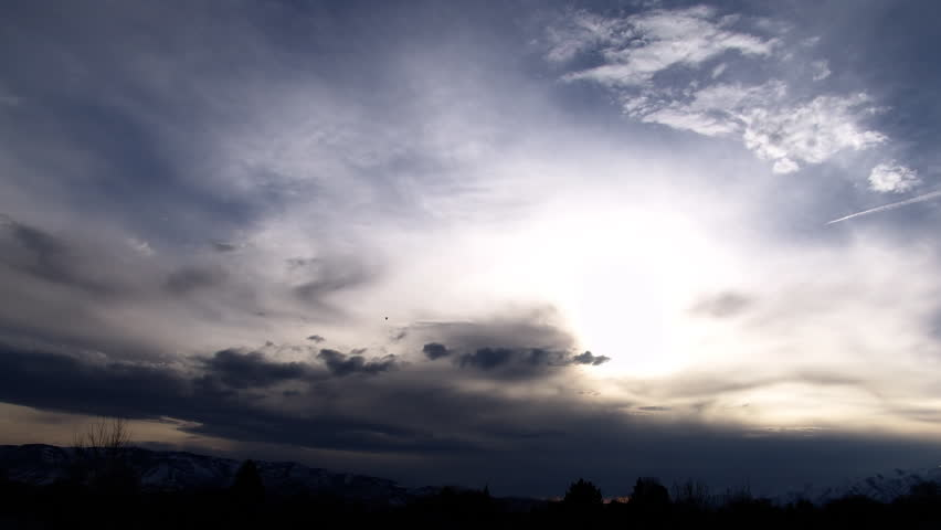 A Cloud time-lapse in the Beautiful Utah Sky (1080/24p)