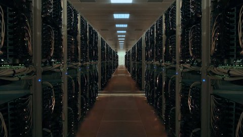 Blackout in data center switching off servers