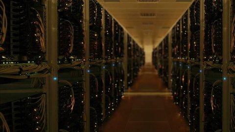 Data center server room network