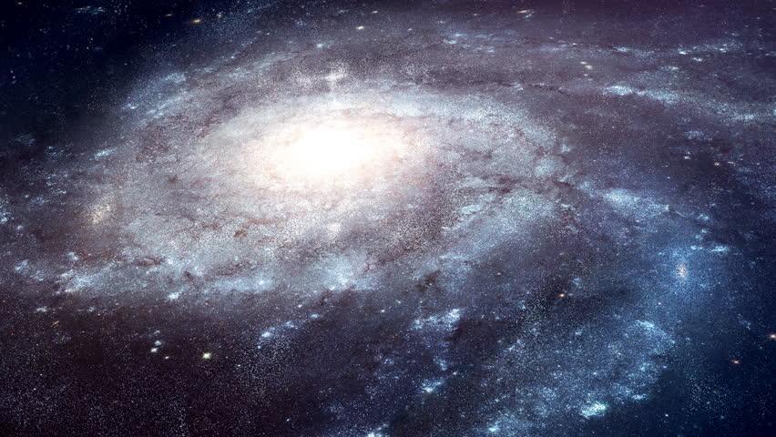 4K Space Galaxy Rotation | Shutterstock HD Video #12753083