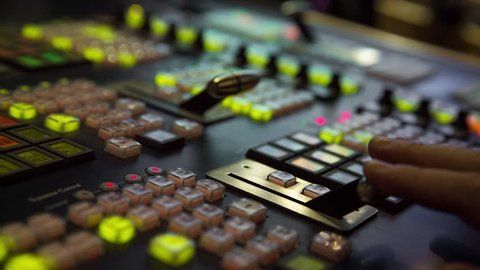 Broadcast Tv Studio Production - Vision Switcher 
