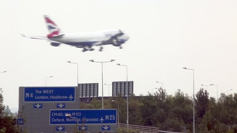 London, October 2015. Heathrow Airport is at maximum capacity, a plane lands or takes off every 45 seconds, expansion plans face fierce opposition from local residents and enviromentalists