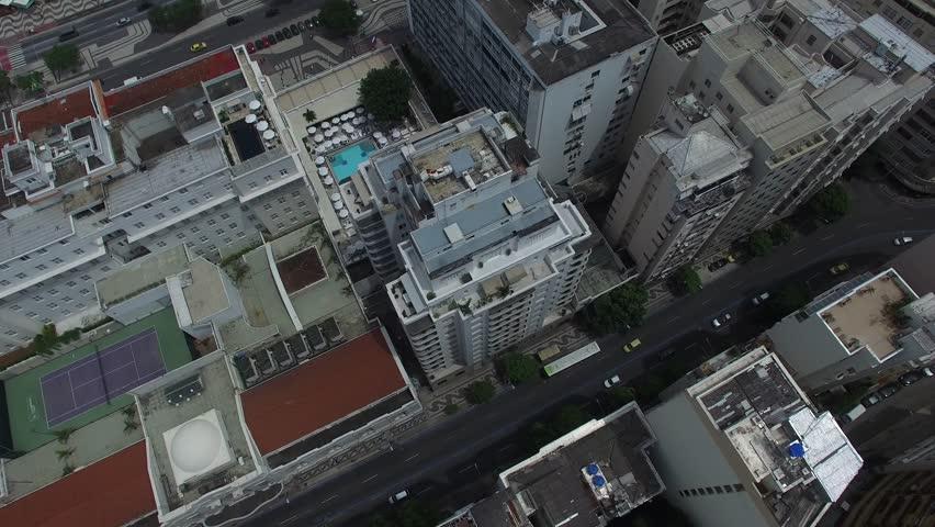 Aerial View of Rio de Janeiro Buildings, Rio de Janeiro   Shutterstock HD Video #12864413