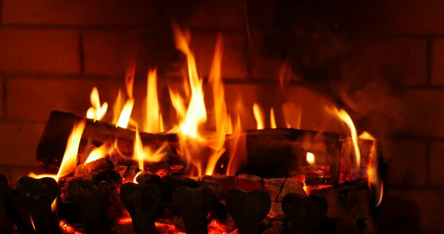 Fireplace Stock Footage Video 12370817 | Shutterstock