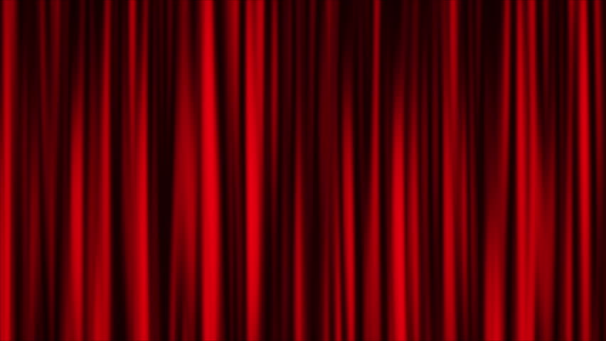 Red curtain animation background | Shutterstock HD Video #12913433