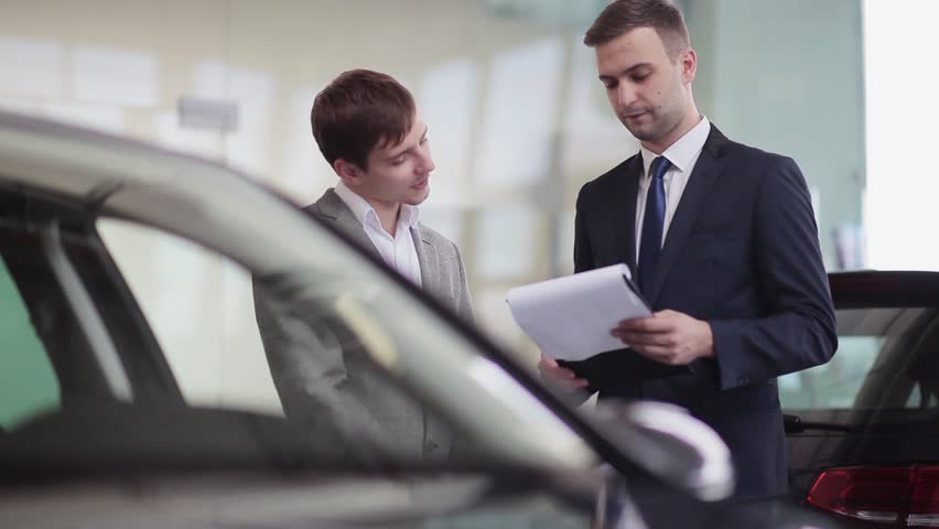 Image result for salesman with client