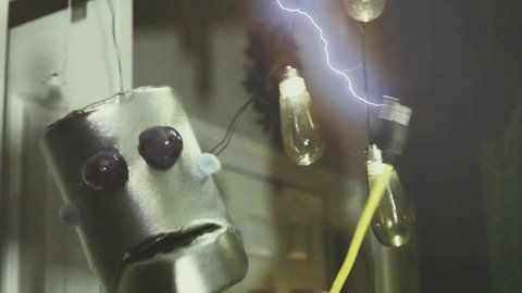 Robot and electricity