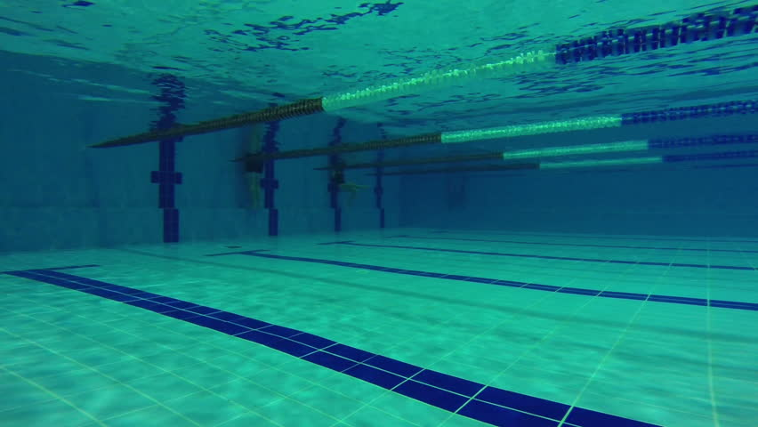 pool a swimmer dives into the launch pad shutterstock video 13009022
