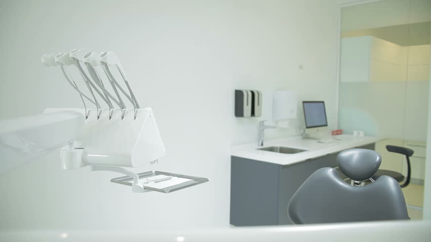 Stock Video Clip Of Dental Clinic Interior Design With Chair And |  Shutterstock
