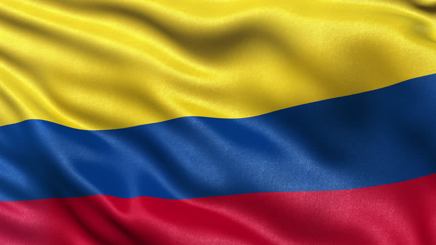 Colombia Flag Royalty Free Stock Video In 4k And Hd Shutterstock