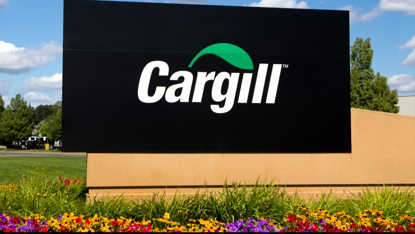 Hopkins Mn Usa August 11 2017 Cargill Corporate Headquarters Sign And