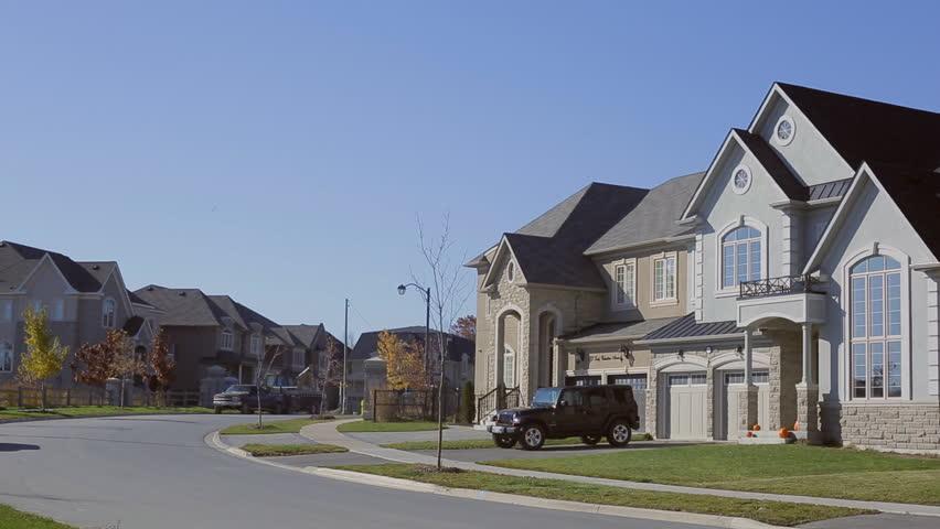 Luxury Suburban Home. Custom house exterior | Shutterstock HD Video #13190423