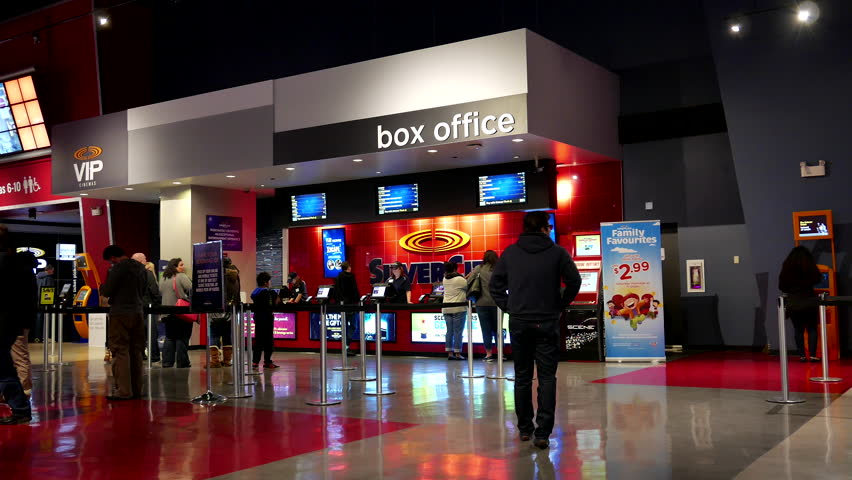 Coquitlam bc canada june 19 2015 people line up for buying vip movie ticket at cinema - Box office cinema mondial ...