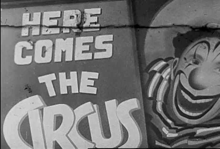 CIRCA 1940s - Children and their parents visit the circus, and take in some novelty acts in 1942.