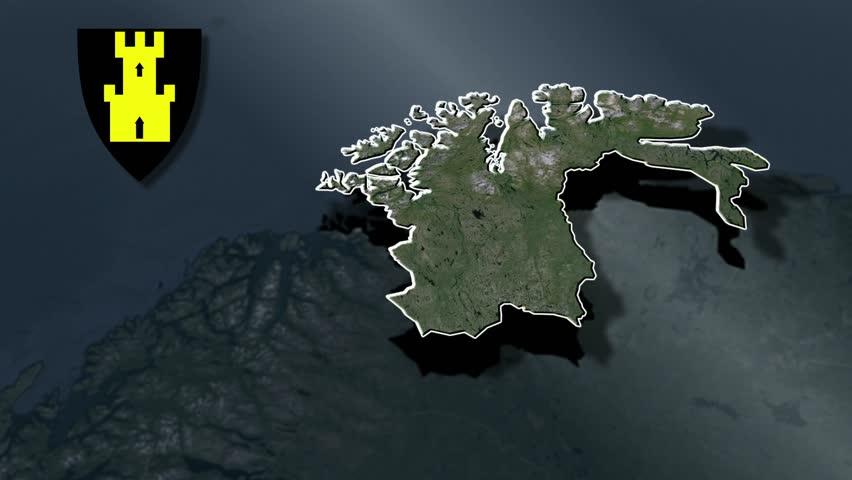 Norway Zooming Into Norway On The Globe Stock Footage Video - Norway map hd